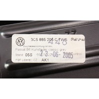 Rear Seat Arm Rest Ski Pass Cup Holder Armrest 06-10 VW Passat B6 Grey Pleather