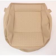 NOS Front Seat Cushion Cover 02-05 VW Jetta Golf MK4 Beige Genuine - 1J0 881 405