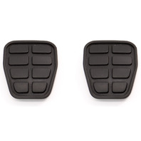 NOS 2x Pedal Pad Cover Clutch Brake 944 85-99 VW Jetta Golf MK2 MK3 321 721 173