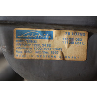 NOS Muffler 60-62 VW Beetle Bug Ghia 1200 40HP Aircooled Leistritz 111 251 051 L