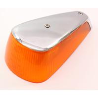 LH Fender Turn Signal Light Lens 70-79 VW Super Beetle Aircooled - Genuine Hella