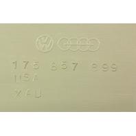 LH Lower Dash Cover Panel Grey 81-84 VW Rabbit Pickup GTI Mk1 ~ 175 857 899