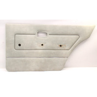 RH Rear Interior Door Panel Card VW Rabbit MK1 - Grey - Genuine