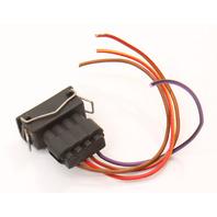 Fuel Pump Pigtail Wiring Plug 90-93 VW Passat 16v B3 - Genuine - 357 906 734