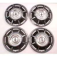 66-69 Chevrolet Corvair Monza Hubcap Hub Cap Wheel Cover Set - Genuine