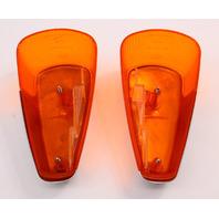 Fender Turn Signal Light Lens Set 70-79 VW Super Beetle Aircooled Genuine Hassia