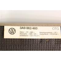 Trunk Hatch Carpet Cargo Cover Floor Mat 90-97 VW Passat Wagon B3 B4 3A9 863 463