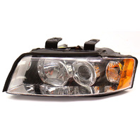 LH Halogen Headlight 02-05 Audi A4 B6 Head Light Lamp - 8E0 941 029 F