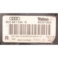 RH Halogen Headlight 02-05 Audi A4 B6 Head Light Lamp Genuine - 8E0 941 004 B