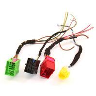 RH Under Seat Wiring Plugs Pigtails 02-05 Audi A4 S4 B6 - Genuine - 3B0 937 741