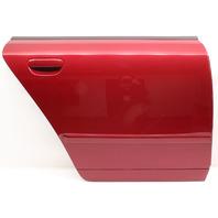 RH Rear Door Shell Skin 02-08 Audi A4 S4 B6 B7 Sedan LZ3H Crimson Red