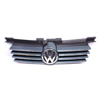 Chrome Upper Grill Grille 99-05 VW Jetta MK4 LB6X - Genuine - 1J5 853 655 C