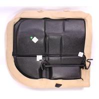 LH Rear Back Seat Cushion & Cover 99-05 VW Jetta Golf MK4 Beige - 1J0 885 305 J