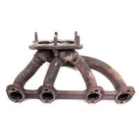 Dual Port Exhaust Manifold 99-01 VW Jetta Golf MK4 Beetle 2.0 AEG - Genuine -