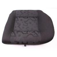 LH Rear Back Seat Cushion & Cover 99-05 VW Jetta Golf MK4 Cloth - Genuine