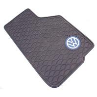 RH Front All Season Weather Rubber Floor Mat 99-05 VW Jetta Golf MK4 - Genuine