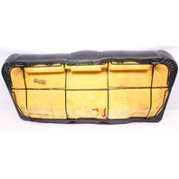 Black Leather Rear Seat Cushion & Cover 95-02 VW Cabrio MK3 - 1E0 885 375 B