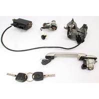 Lock Set Ignition Door Handle Trunk Key 99-02 VW Cabrio MK3.5 - 357 905 851 F