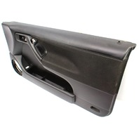 RH Passenger Front Door Panel 99-02 VW Cabrio MK3 MK3.5 - Black - Genuine