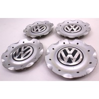 Wheel Center Hub Cap Cover Set 03-05 VW Passat B5.5 - Genuine - 3B0 601 149 L