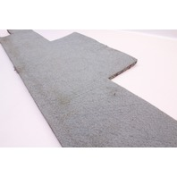 Hatch Trunk Tail Carpet Cover Panel 75-84 Rabbit GTI MK1 Grey - Genuine