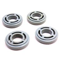 Window Crank Spacer Set 75-84 VW Jetta Rabbit GTI MK1 - Grey - Genuine