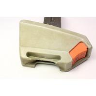 RH Front Seat Belt Receiver 81-84 VW Rabbit GTI MK1 Grey . Genuine . 171 857 756