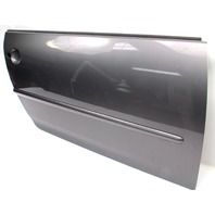 RH Front Door Shell Skin 06-09 VW Rabbit GTI MK5 2DR LA7T United Gray - Genuine