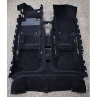 Interior Floor Carpet 05-10 VW Jetta Golf Rabbit GTI Mk5 Black - 1K1 863 367 AR