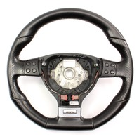 Perforated Black Leather Sports Steering Wheel 05-10 VW Jetta GLI GTI MK5 ~