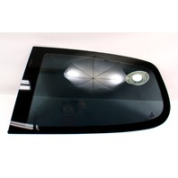 LH Rear Quarter Side Window Fixed Glass 06-09 VW Rabbit GTI Mk5 2 Door - Tinted