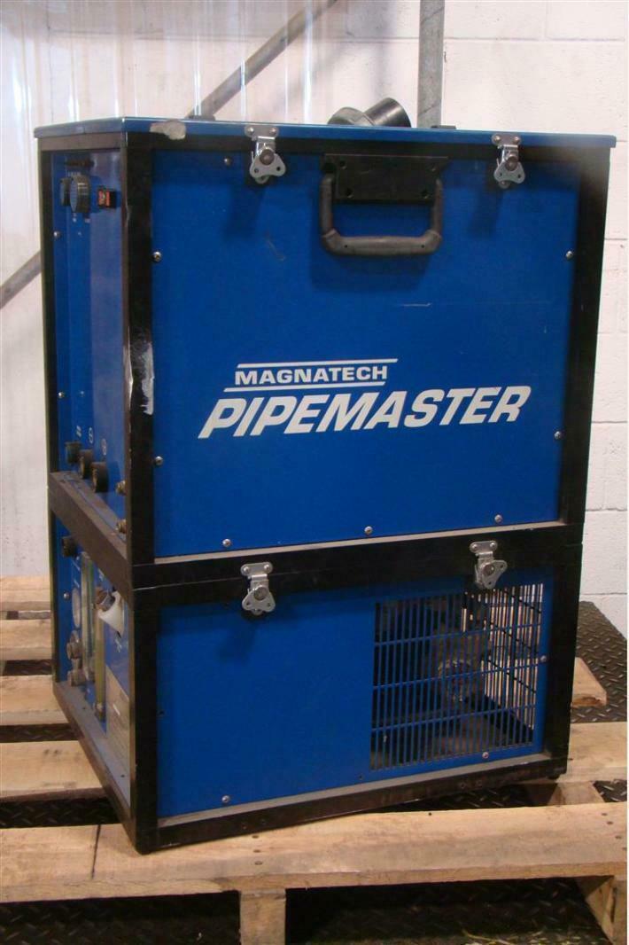 Magnatech Pipemaster 510 Dual Wire Orbital D-Head Welder Unit 903 Cooler 230/460