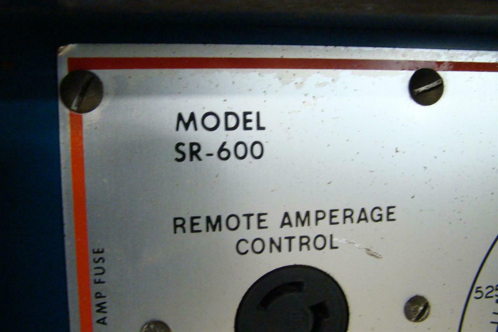 Miller 600a Dc Arc Welder Power Source 230  460v 3 Ph   Sr