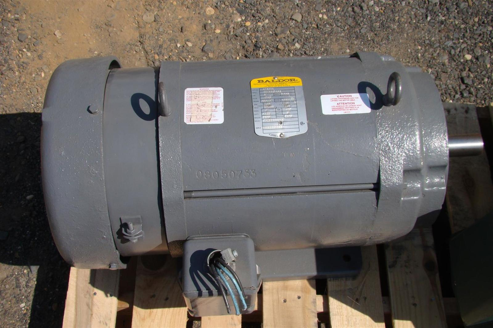 Baldor Electric Dc Motor 5hp 1750 Rpm180v Cd9105 Joseph Fazzio Motors