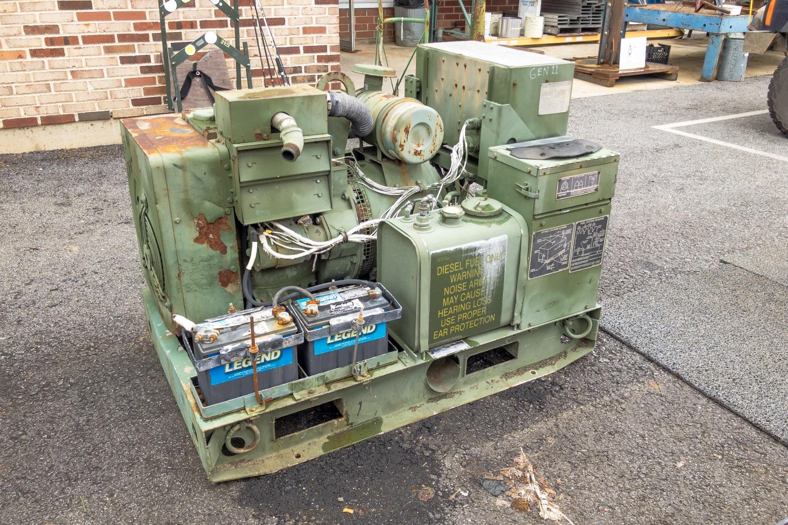 Mep 002a Control Panel Generator Circuit Breaker Ebay Phase Military Diesel Powered A 1599x1066