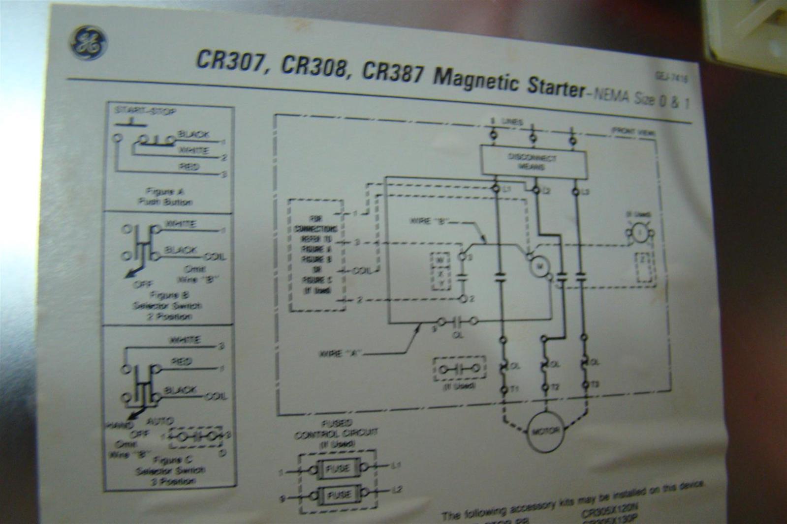 General Electric Single Phase Motor Wiring Diagram Ge Diagrams Outdoor Lighting