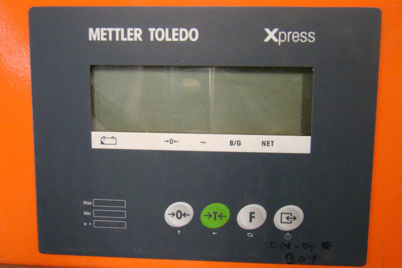 Mettler toledo Xpress floor Manual