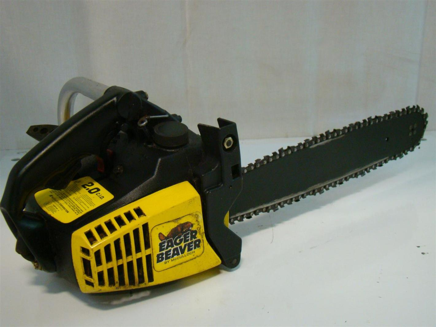 Eager Beaver Electric chainsaw manual