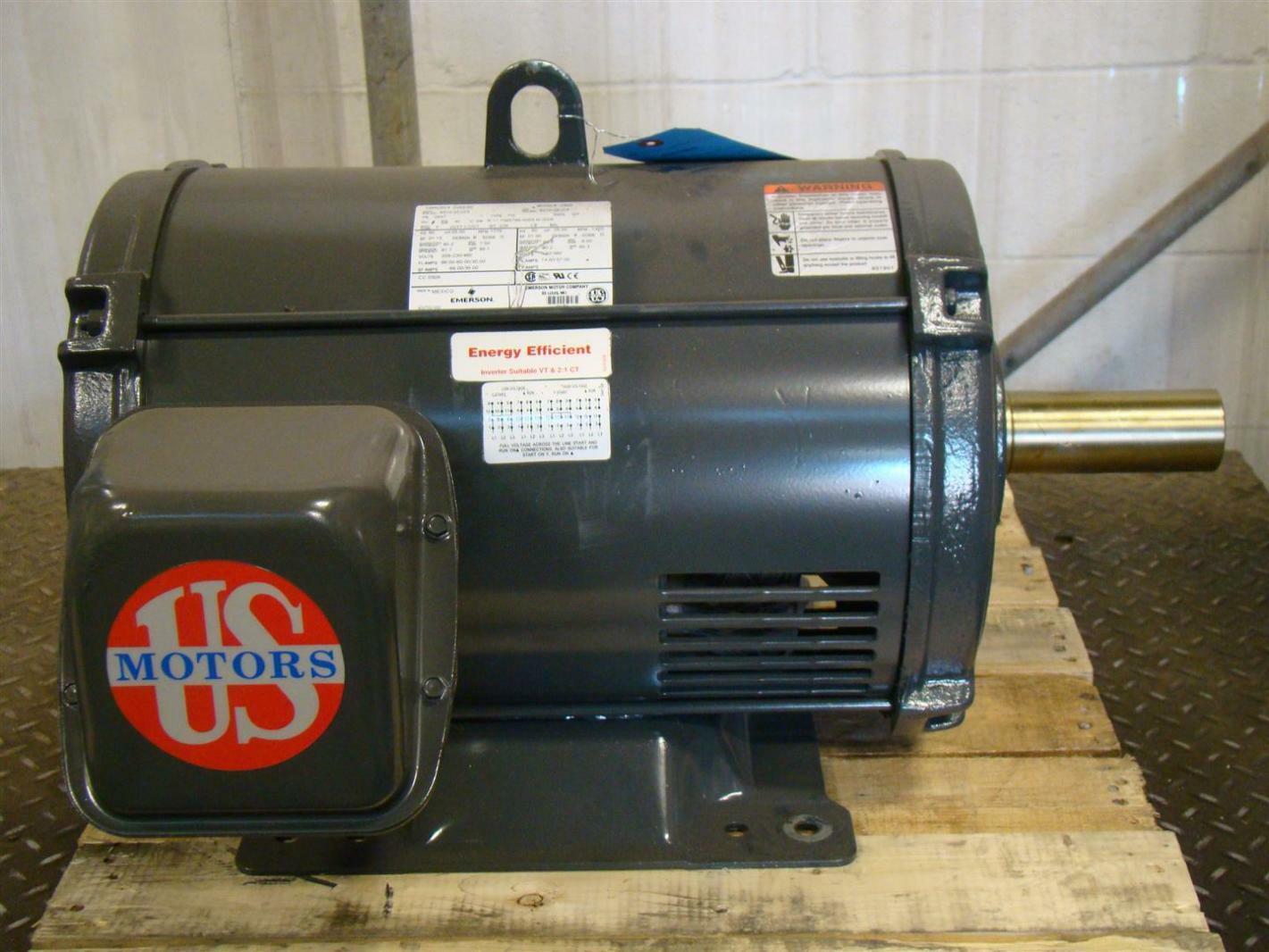 Emerson Motor 1775Rpm 25hp 208-230/460V T625 D25E2D