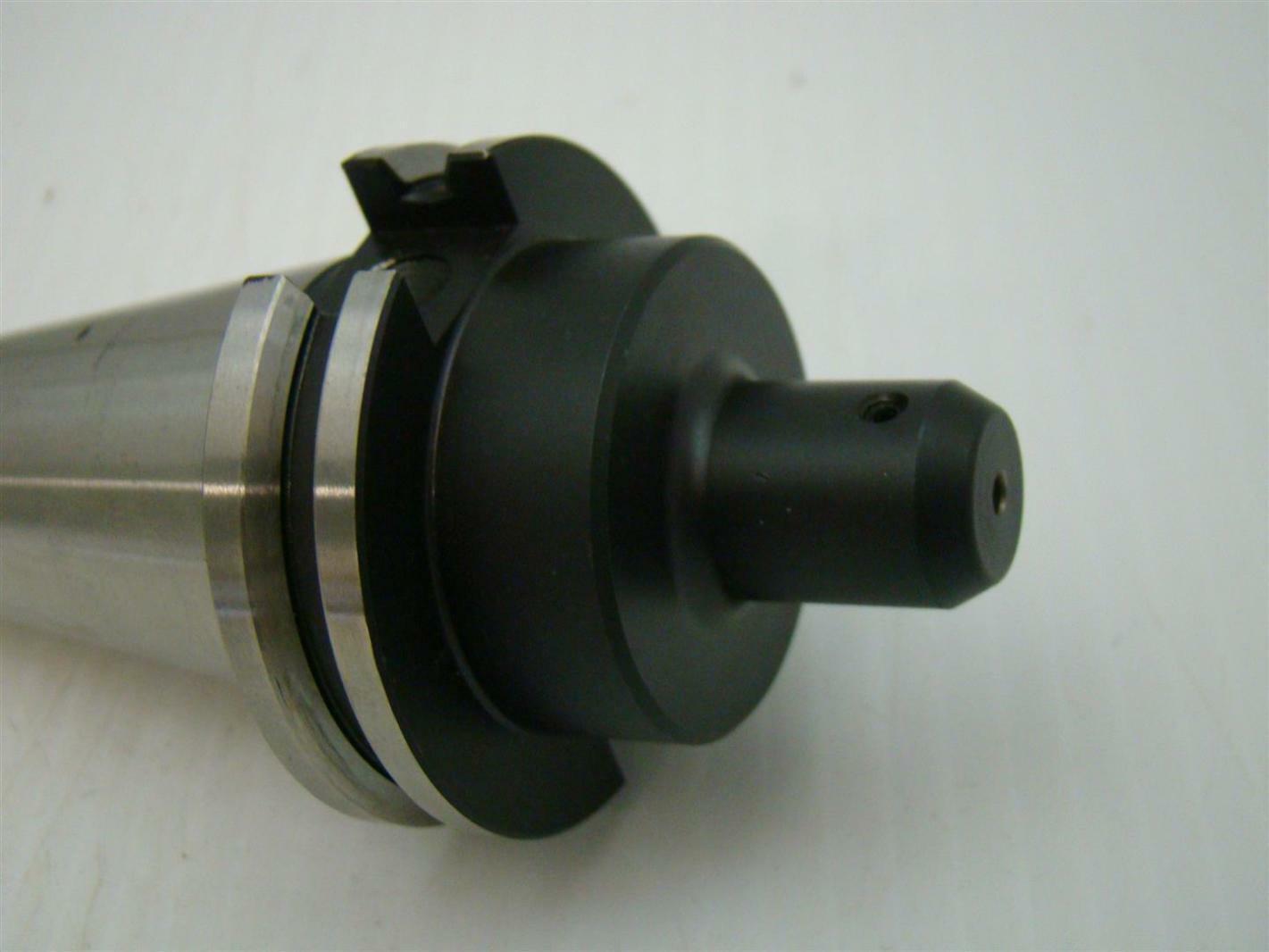 Lyndex CAT40 Taper Shank Steel Standard End Mill Holder C4006-0125