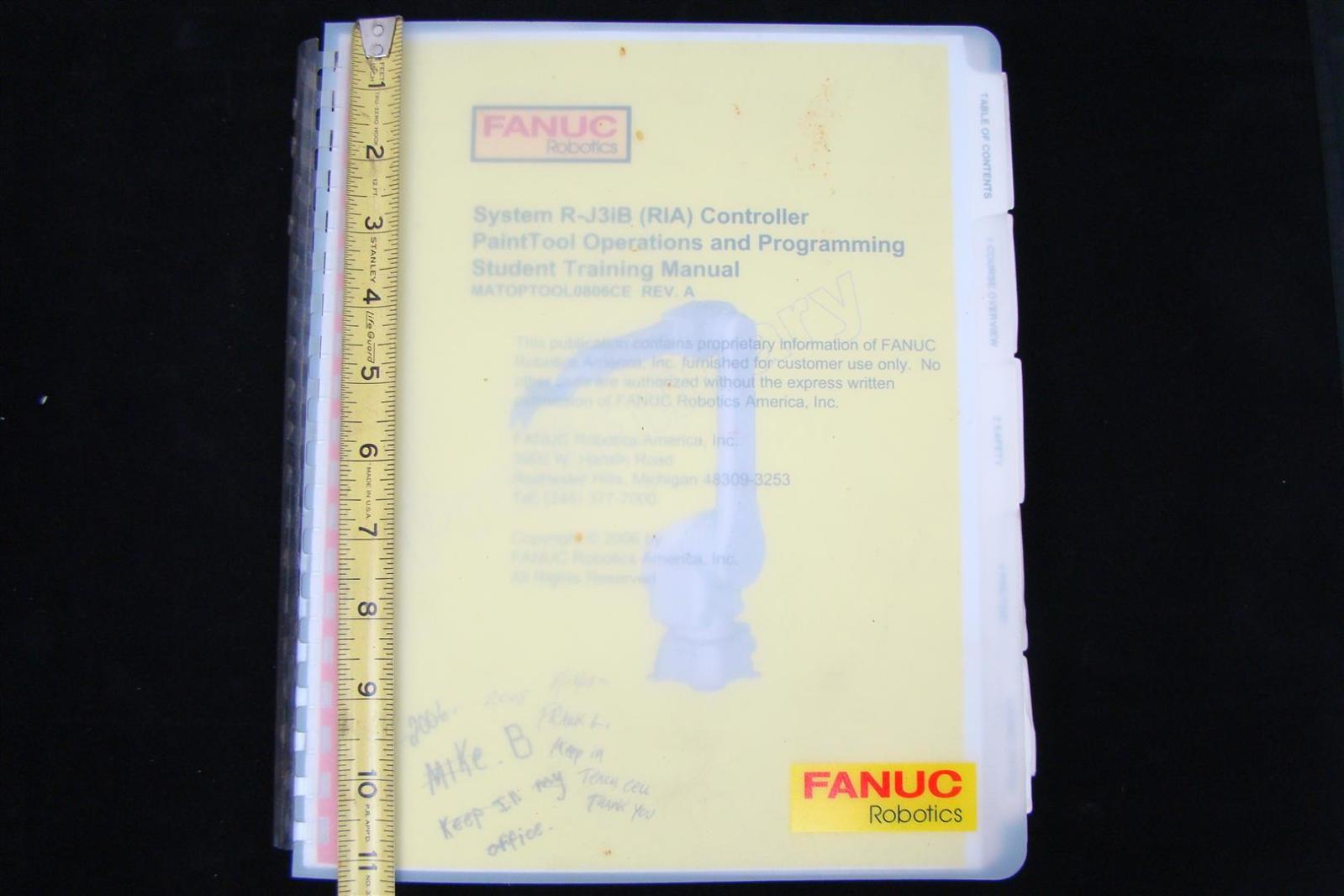 Fanuc Robot programming Manual