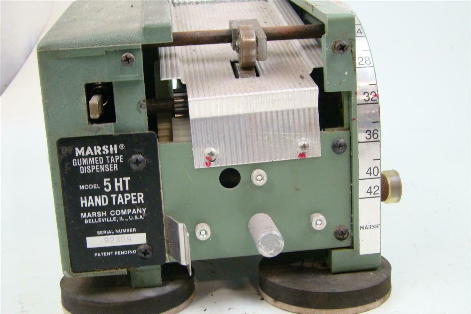 HT Hand Taper Marsh Gummed Tape Dispenser
