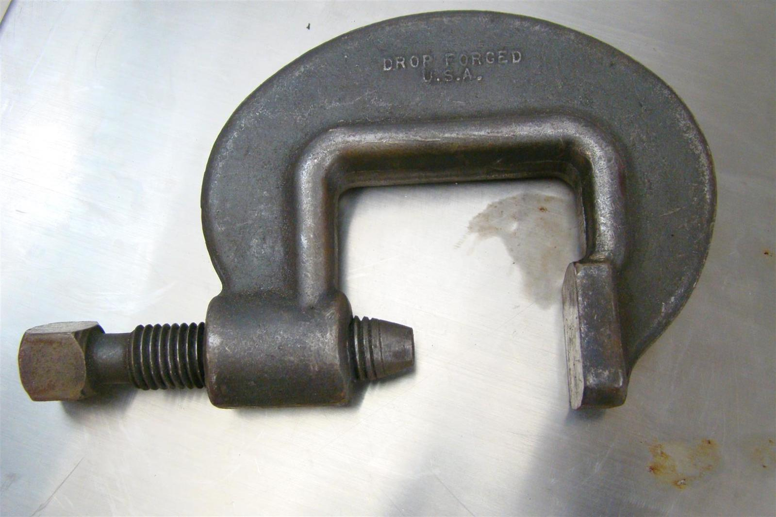 Armstrong Drop Forged Heavy Duty C Clamp 2 3 8 Quot 78 020