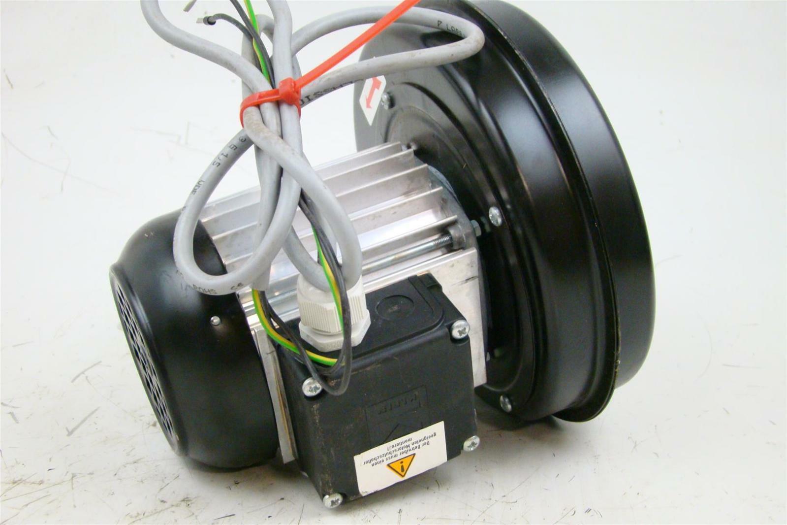 ... Karl Klein Blower Motor 50Hz, 2760 RPM, 2E 56 K50 - 2/S ...