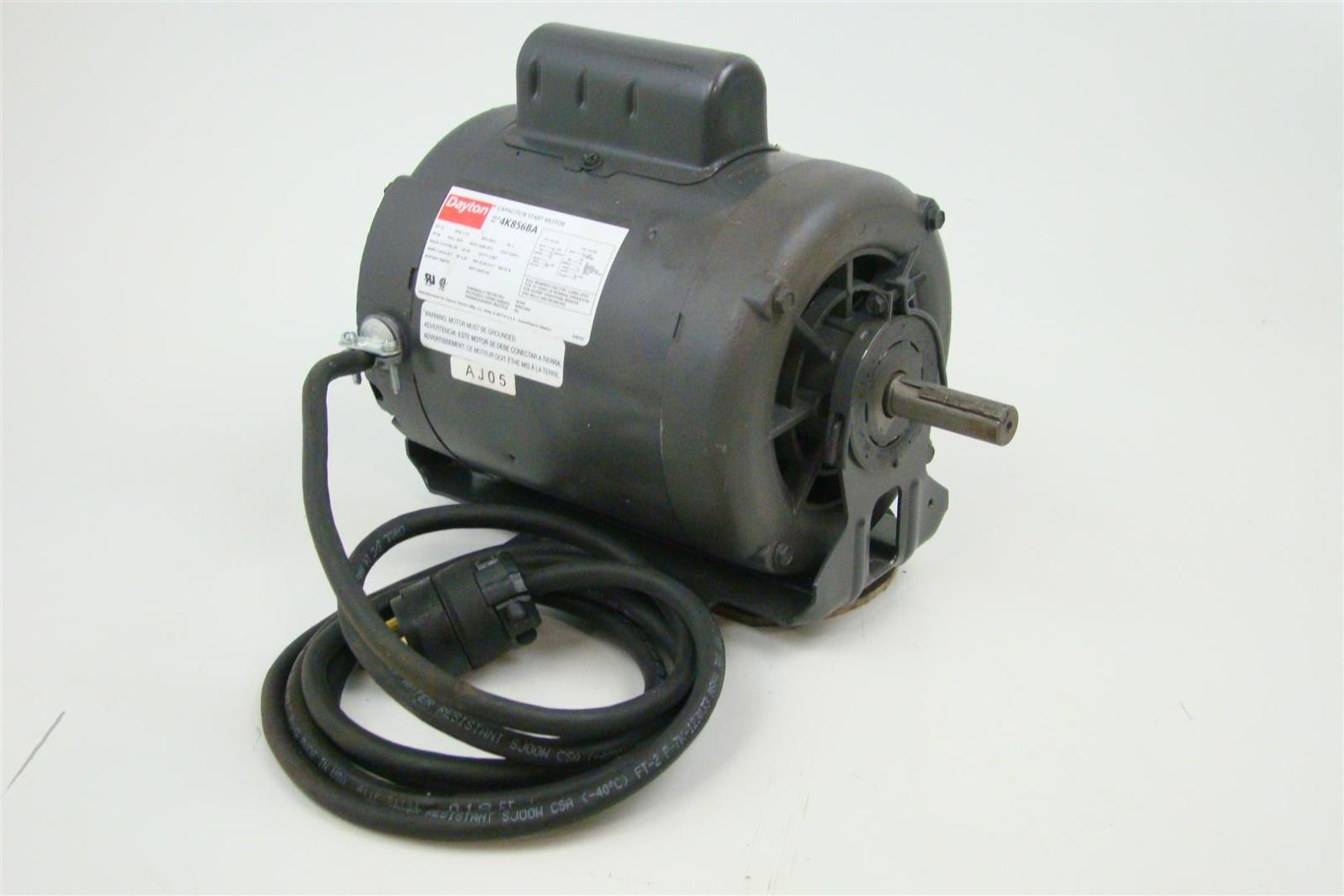 dayton single phase 1 2hp capacitor start motor 1725 rpm, 115 208 AC Motor Capacitor Wiring Diagram dayton single phase 1 2hp capacitor start motor 1725 rpm, 115 208