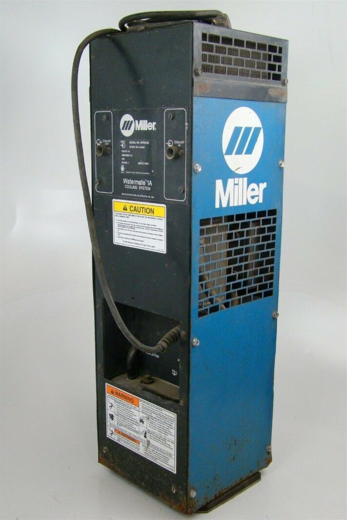 Miller Watermate 1a Cooling System 042495 Joseph