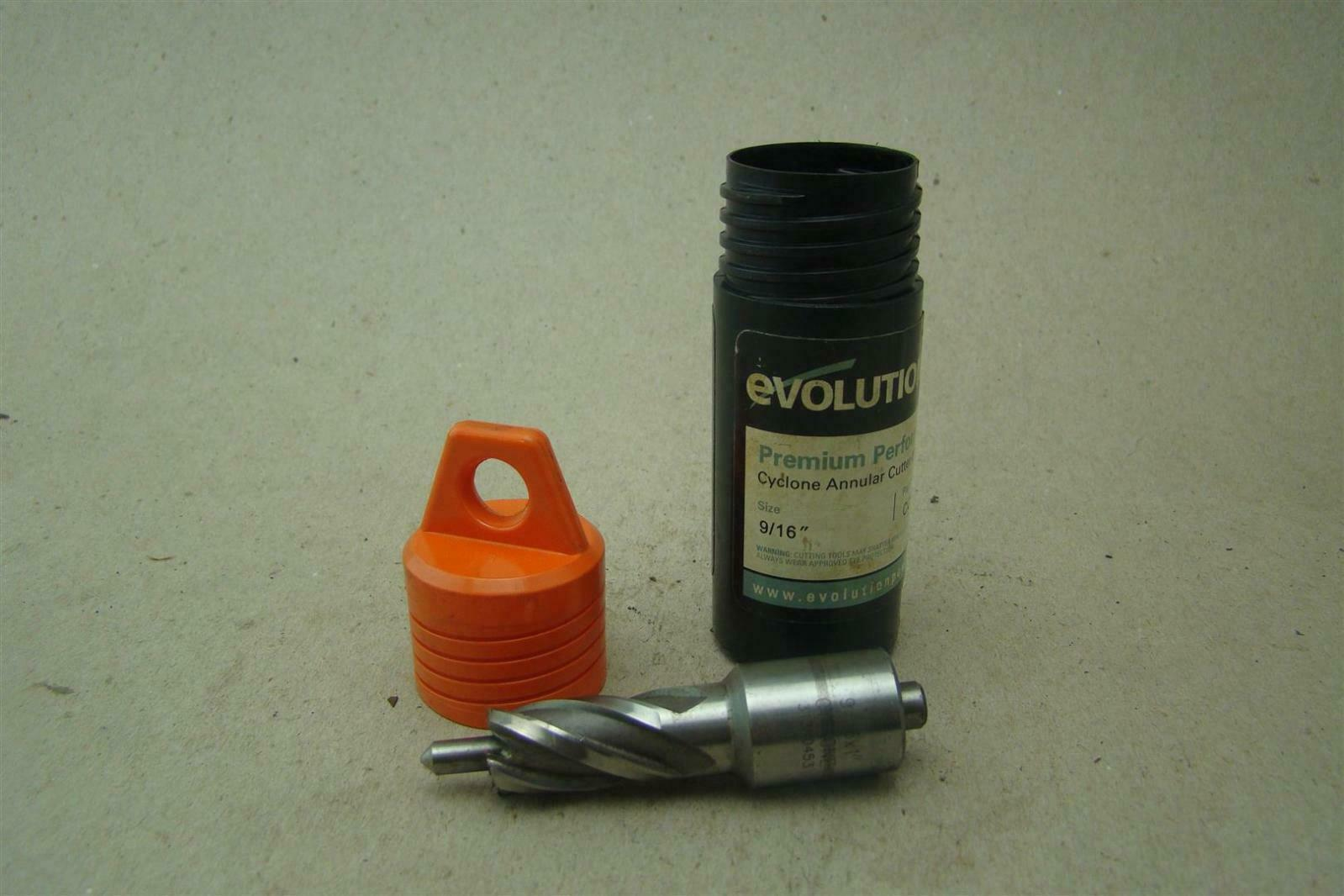 "Evolution 1/"" X 1/"" Cyclone Annular Cutter w//Pilot Pin"
