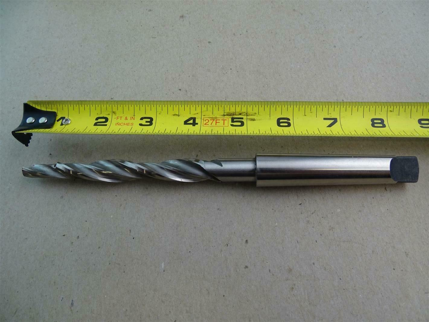 "NEW SURPLUS CHICAGO-LATROBE TAPER SHANK TWIST DRILL 1//2/"" #1MT USA .500/"""