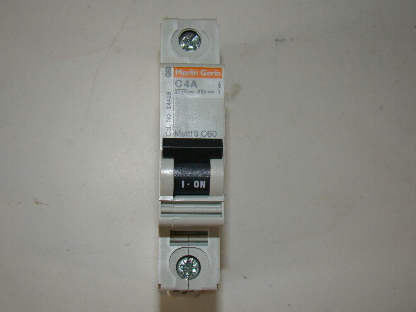 Square D Merlin Gerin DIN Mount Breaker MG 24428