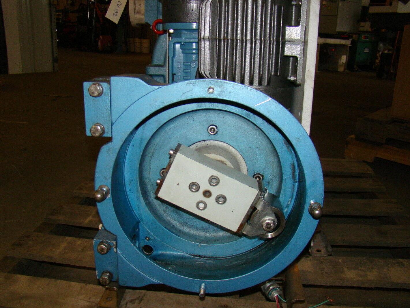 Siemens peristaltic pump dosing  Chemtube  Baldor 1.5 HP 230/460V IDNM3584T